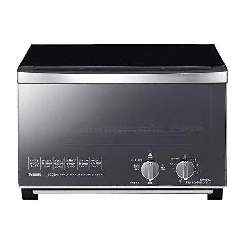 ツインバード ミラーガラスオーブントースター ブラックTWINBIRD TS-D048B TS-D048B