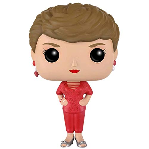 Gogowin Pop Television : The Golden Girls - Blanche 3.75inch Vinyl Gift for TV Fans (Without Box) Chibi Figure
