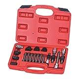 YAOHM 18pcs Alternador Reparación de Herramienta de Eliminación del alternador de Rueda Libre polea Extractor Tool Kit Socket
