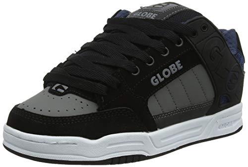 Globe Tilt, Scarpe da Skateboard Uomo, Nero (Black/Blue Knit 20410), 42 EU