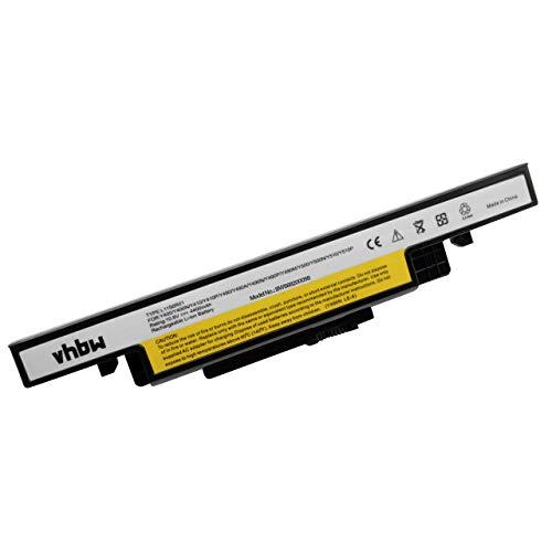 vhbw Li-Ion battery 4400mAh (10.8V) black for laptop notebook Lenovo IdeaPad Y400, Y400N, Y400P, Y410, Y410N, Y410P, Y490, Y490A, Y490M, Y490N