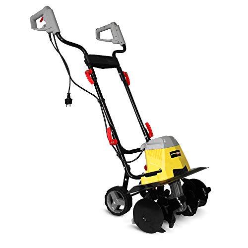 GARDEO GMTBE1506W Motozappa elettrica 1500 Watt larghezza di lavoro 40 centimetri