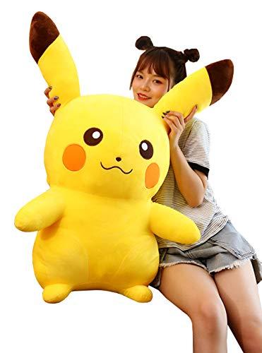 XXH Pikachu Muñeca Linda Grande De Peluche De Juguete Muñeca Almohada Niños De Juguete,30cm