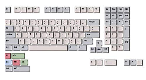 Drop + MiTo XDA Canvas Keycap Set für Full-Size Keyboards - Kompatibel mit Cherry MX Switches & Clones (1800 Layout 114 Key Kit), Modell: MDX-31991-3