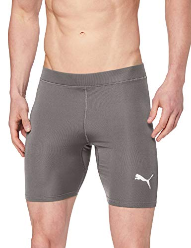 Puma Liga Baselayer Short Tight Pantalones Cortos, Hombre, Gris (Steel Gray), M