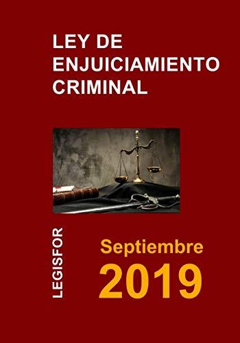Ley de Enjuiciamiento Criminal: 6.ª edición (septiembre 2018). Colección Textos Básicos Jurídicos