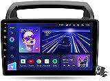Android 10 MP5 Player GPS Navegación para Kia Carnival VQ 2006-2014, Soporte WiFi 5G DSP/FM RDS Radio de Coche Estéreo/BT Hands-Free Calls/Control del Volante/Carplay Android Auto