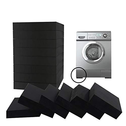 Zuzer 20 Stück Waschmaschinenunterlage Universal Anti-Vibration Pads Dämmmatte Gummischutzmatte Antivibrationsmatte Für Waschmaschinen,Kühlschränke,Haushaltsgeräte Usw