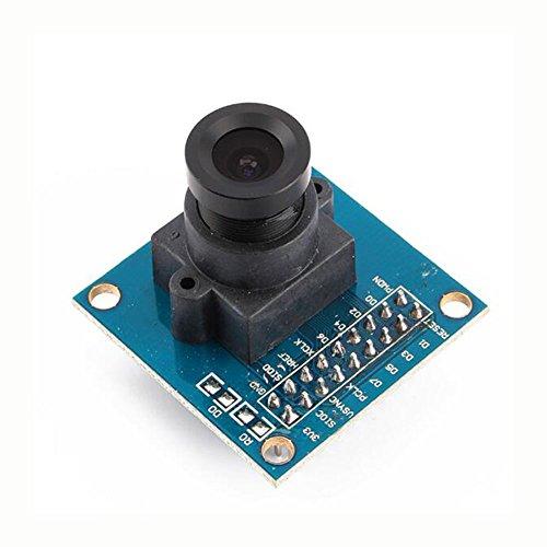 WKELECTRONDE-Garantizado Nuevo 5pcs Azul OV7670 300KP VGA Cámara Módulo para Arduino para Arduino