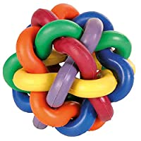 Very nice knotted ball for dogs Made from natural rubber Provide lots of fun for your cat Keep your cat busy in playing all the day Diameter: 7 cm