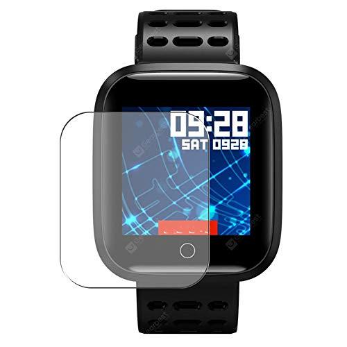 Vaxson 3 Unidades Protector de Pantalla, compatible con Lenovo E1 smart watch [No Vidrio Templado] TPU Película Protectora Reloj Inteligente Film Guard Nueva Versión