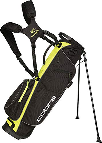 COBRA Megalite Stand Bag/Golfbag schwarz/gelb Puma Golftasche, Farbe:schwarz/gelb