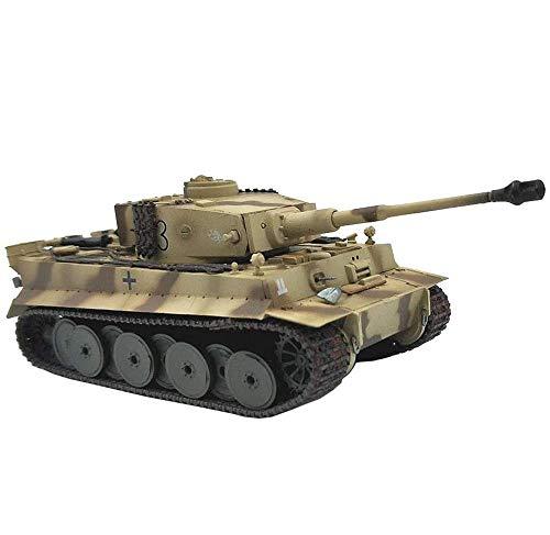 HYLL 1/72 Scale Diecast Tank Modelo de plástico, temprano Tigre Imperio Imperio División blindada, Juguetes Militares y Regalos, 4.6 Pulgadas x 2 Pulgadas