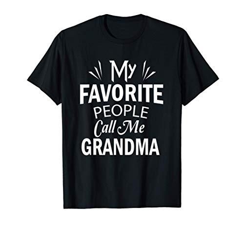 My Favorite People Call Me Grandma Mother