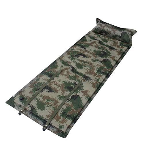 Matelas autogonflants Coussin de Couchage Ultralight Oreiller de Trekking extérieur Portable Unique imperméable airbed,Camouflage