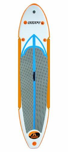 Advanced Elements AE1061 - Tabla de Surf, Color Blanco/Naranja