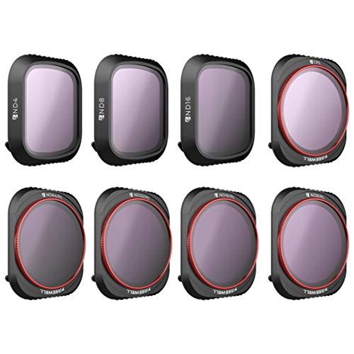 Freewell den ganzen Tag - 4K Serie - 8Pack ND4, ND8, ND16, CPL, ND8/PL, ND16/PL, ND32/PL, ND64/PL Kamera Objektiv Filter Kompatibel Mit Mavic 2 Pro Drone