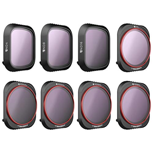 Freewell All Day – 4K Series – 8Pack ND4, ND8, ND16, Cpl, ND8/PL, ND16/PL, ND32/PL, ND64/PL Camera Lens Filters Compatible with DJI Mavic 2 PRO Drone