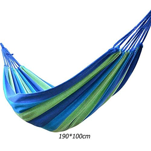 NOBRAND Garden Hanging Chair Swing Lazy Chair Canvas Hammocks Outdoor Travel Hiking Camping Hammock With Pillow Outdoor Swing Chair