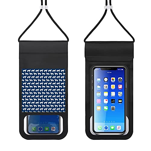 Waterproof Mobile Phone Package Cell Phone Dry Bag with Lanyard Phone Case Outdoor Swimming Phone Bag Great Dogs Cute Best