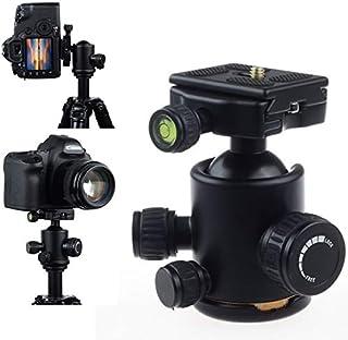 إكسسوارات استوديو الصور - حامل الكاميرا الجديد ثلاثي الأبعاد معدني برأس كروي صغير مع لوحة تحرير سريعة لكاميرا ترايبود
