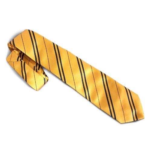 Elbenwald Harry Potter Hufflepuff Krawatte original Filmrequisite Kostümteil Made in UK