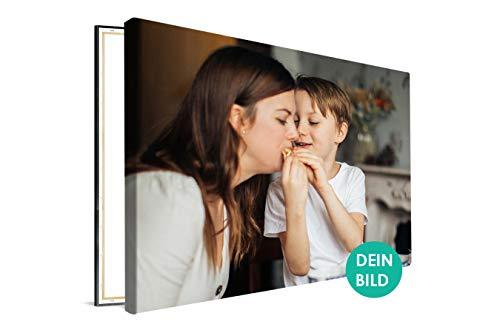 Ihr Foto auf Leinwand 60x90 cm SOFORT ONLINE VORSCHAU Ihr eigenes Bild auf Leinwand mit Keilrahmen - Wandbild mit Kunstdruck - Personalisierte Geschenke