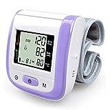 Hong xia shop Wrist Blood Pressure Monitor Health Care Digital Blood Pressure Heart Monitor Tonometer Automatic Sphygmomanometer BP Blood Pressure Meter
