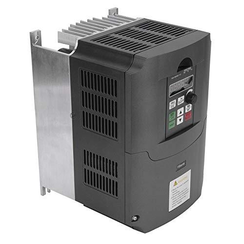 Convertisseur de fréquence variable 7.5KW, entraînement monophasé de fréquence de sortie 380V triphasé 220VAC