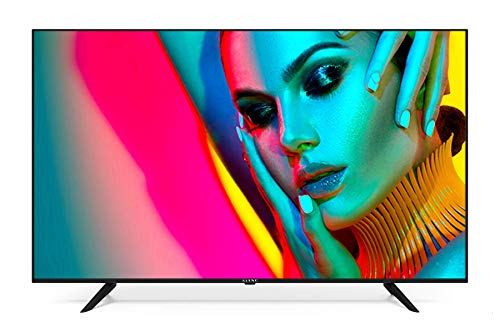 Téléviseur Kiano SlimTV 58' [147 cm, SmartTV, 4K UHD] Multimedia USB (Dolby Audio, PVR, Triple HDMI, 8.5 ms, LED, Direct LED, HD)