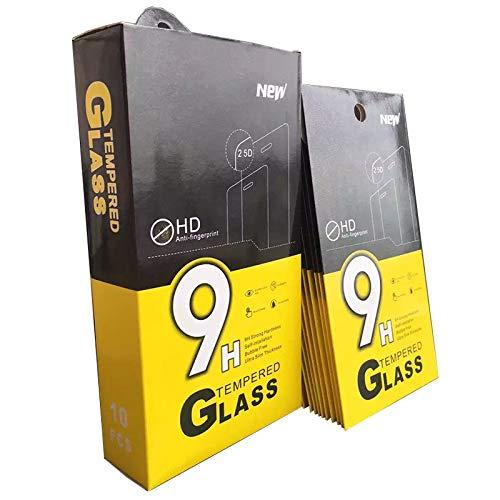 Displayschutzfolie für iPhone 11 PRO, XS & X, 9H, 2.5D gehärtetes Glas Displayschutzfolie [Anti-Kratzen, Anti-Fingerabdruck, Hüllenfreundlich, 3D Curved]