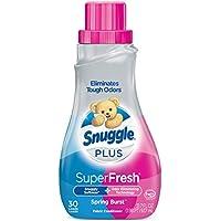 Snuggle Plus Super Fresh 31.7 fl oz Liquid Fabric Softener (Spring Burst)