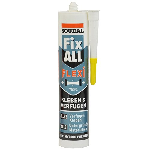 Soudal Fix All Classic weiß 470g Hybrid-Dichtstoff Klebstoff Universal-Kleber
