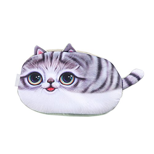 Gespout Coin Purse Sac à main pour étudiant Motif chat