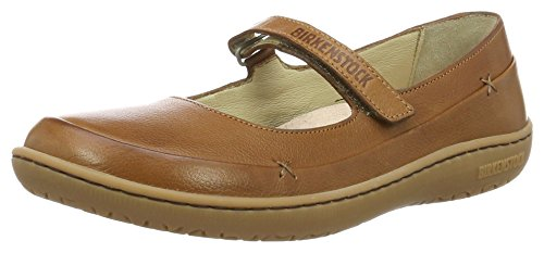 Birkenstock Shoes Birkenstock Shoes Damen Iona Mary Jane Halbschuhe, Braun (Nut), 36