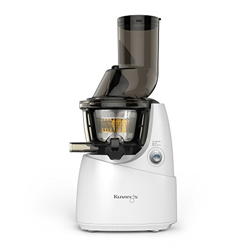 Kuvings Whole Slow Juicer B6000WR  White, includes  Sorbet and Smoothie Strainer