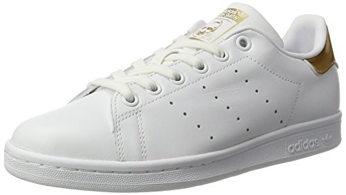 adidas adidas Damen Stan Smith W Sneaker, Weiß Ftwwht Ftwwht Supcol, 41 1/3 EU