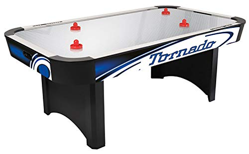 Heiku-Sport Air-Hockey Tisch Tornado Silver Steel