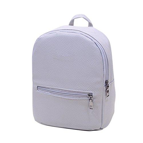 Majome Moda durable de la PU de la mochila del hombro de la mochila de las muchachas del estudiante para la escuela del cuaderno