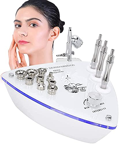 Microdermabrasion máquina diamante profesional, cuidado facial salón micro dermabrasion kit para rejuvenecimiento de la piel, apretando la máquina de la belleza