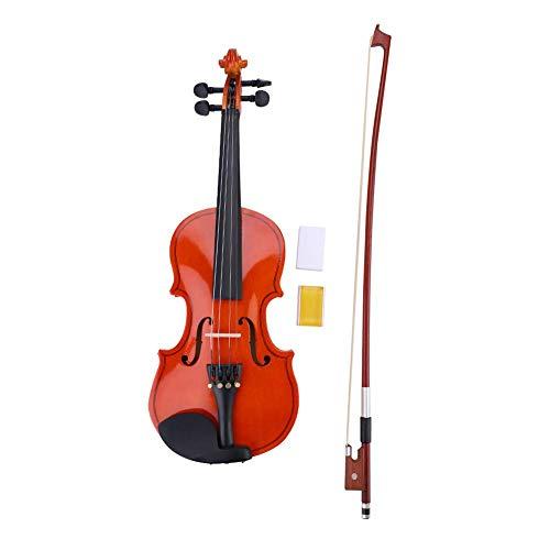 1/8 Größe Violine Anfänger Kit mit Bogen + Lightweight Case + Kolophonium für Kinder Studenten