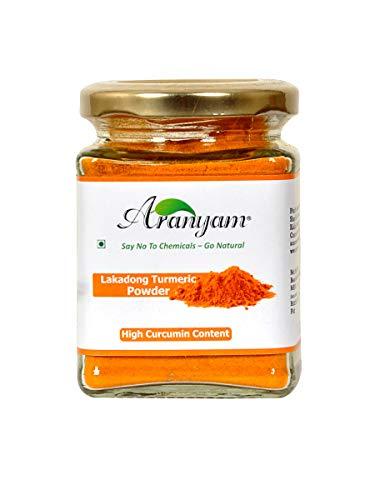 Aranyam Raw Lakadong High Curcumin Turmeric Powder 100 Gm