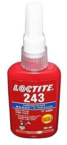 LOCTITE 243 MITTELSTARK - THREADLOCKER - ALLE METALL KLEBER - KLEBSTOFF 50 ML