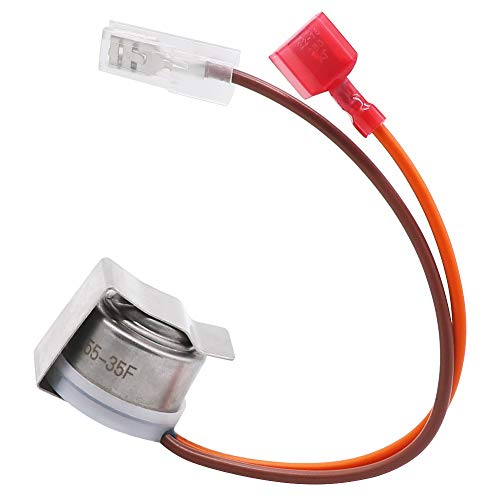 Primeswift 10442411 Refrigerator Defrost Thermostat Replacement Part Compatible with Whirlpool Amana PS11738231,AP6005218