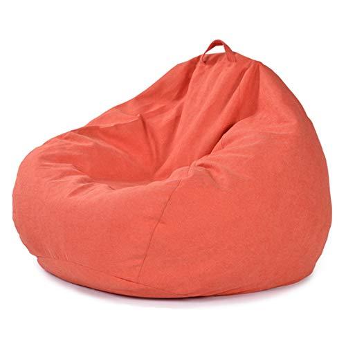WXFN Bequemes Premium Faul Sofa Sitzsackhülle Mit Extra Langem Reißverschluss Für Erwachsene Und Kinder Ohne Füllung 4 Größen,L
