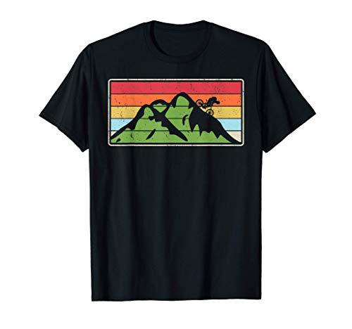 Mountain Bike Rider Birthday Gift MTB Dirt Trail Biker T-Shirt
