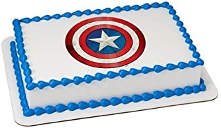 captain america edible image