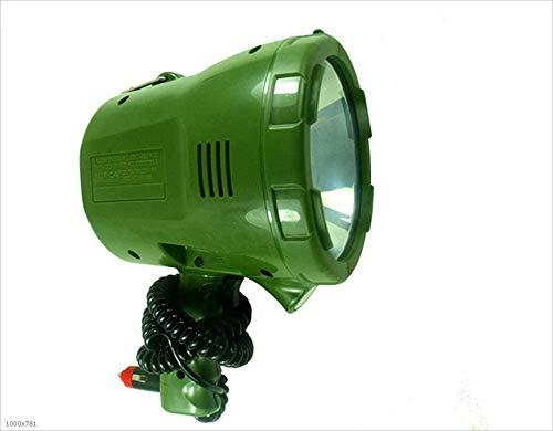 Nologo Pesca 65W12V24V portátil luz de xenón HID Xenon Caza Salvaje al Aire Libre Caza Buscar Coche luz Marina iluminación 1000M Distancia de búsqueda Linterna