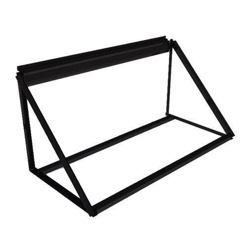 Proslat 10026 Steel Tire Storage Rack Wallmount, 48-Inch Wide