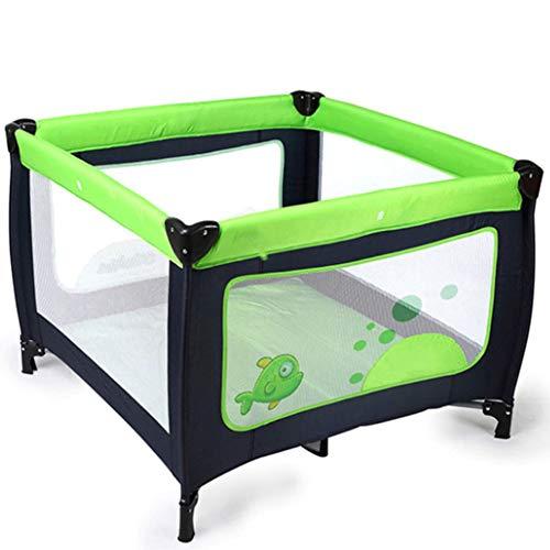 SXFYGYQ Kinderbett Faltbares multifunktionales Kinderspielbett Umweltfreundlich Ungiftig Wasserdicht Starke, tragbare Kinderbetten für draußen